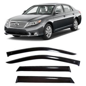 For Toyota Avalon (XX30) 05-12 Window Side Visors Sun Rain Guard Vent Deflectors