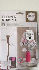 NIP Stick Brown Flower Stem Kit By W R Memory Keepers