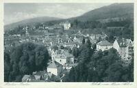 Ansichtskarte Baden-Baden BLick zum neuen Schloß 1935 (Nr.9190)
