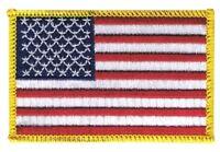USA Aufnäher Flaggen Fahnen Patch Aufbügler 8x6cm