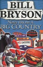 Bill Bryson NOTES FROM A BIG COUNTRY 1st Ed. SIGNED HC Book