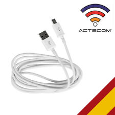 CABLE DATOS Y CARGA USB-MICRO USB BLANCO HTC ONE M7 2013-HTC ONE S-ONE X-XL