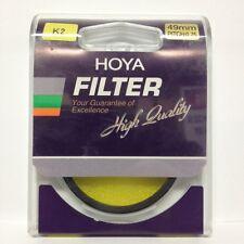 Hoya Yellow K2 (49YELLOWK2) 49 mm Filter