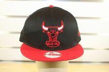 Chicago Bulls New Era 9Fifty 950 Leather Visor Cross Strapback Fit, One sz; $32