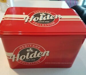 2016 HOLDEN HERITAGE  COIN SET IN TIN 50c UNC COINS 11 COIN SET