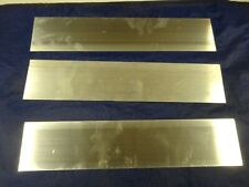 "3 Pieces1/8"" X 3"" ALUMINUM 6061 FLAT BAR 14"" long T6511 .125"" Mill Stock"