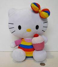"Ty Beanie Babies Sanrio Hello Kitty Plush  "" Cup Cake "" Large 12"" Inch !!!"