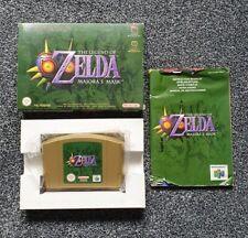 The Legend Of Zelda Majora's Mask Nintendo 64 N64