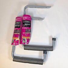 Everbilt HEAVY DUTY Padded 2-in-1 Shelf Hanger Hose Cords Garage Utility Storage