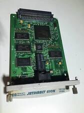 REFURBISHED HP JETDIRECT CARD 610N 10/100TX J4169A NETWORK PRINT SERVER