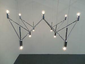 Kinkeldey Studio Verre Lumiere Deckenleuchte 1970 M 130 cm x 130 cm