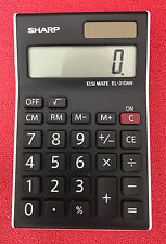 Sharp EL310AN Attractive desktop calculator with large 8-digit display