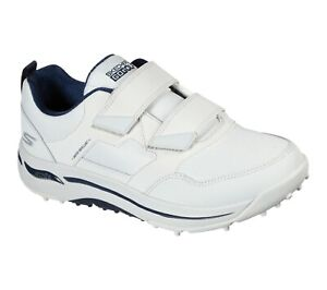 Skechers GO GOLF Arch Fit - Front Nine 214019 Golf Shoe - White/Navy