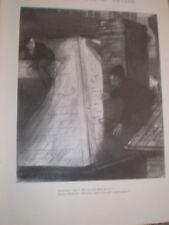 L Ravenhill dibujos animados burgalar atrapados 1897 antiguos impresión ref Ay