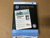 HP Printer Paper, Office20 Paper, 8.5 x 11, Letter Size, 20lb,, SHELF PULL