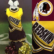 Real Cheerleading Uniform Washington Redskins Adult M