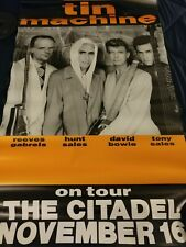 David Bowie Tin Machine 1991 tour poster- The Citadel in Dc