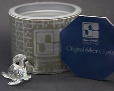 Swarovski Crystal Mini Seal 012530 - Block Logo - Excellent Condition - Boxed