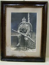 Bel età legno Cornice Foto KS fanteria 177, Kamenz, Sassonia
