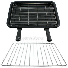 Extendable Shelf & Extra Large Grill Pan Rack for Prima Oven Cooker