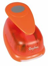 Rayher Oval Motive Puncher for Paper upto 200 g/m sq, Orange, 8 cm Wide, 3-Inch