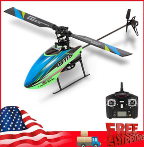 WLtoys 4CH 6G Non-aileron RC Helicopter with Gyroscope Kid Toy Gift w/Batteries