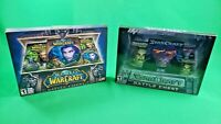 World of Warcraft and Starcraft Battle Chest Lot PC CD-ROM Blizzard PLEASE READ
