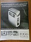 1960 New Schick 1066 3 Speed Razor Ad
