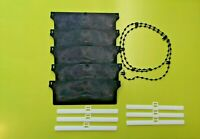 "REPLACEMENT 127mm (5"") VERTICAL BLIND BLACK BOTTOM WEIGHTS REPAIR KIT SPARE PART"