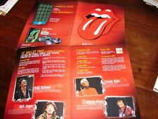 ROLLING STONES NY/PARIS/LONDON DELUXE! FRENCH PRESS/KIT