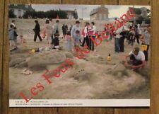 Carte postale,Plougasnou,Primel Tregastel concours chateaux de sable , CPSM