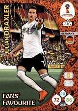 Panini WM Russia 2018 -  Nr. 376 - Julian Draxler - Fans Favourite