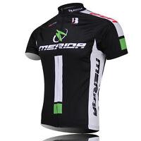 MERIDA Team Men's Bicycle Clothing Cycling Jerseys Biking Short Sleeve Shirts