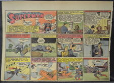 SUPERMAN SUNDAY COMIC STRIP #24 April 14, 1940 2/3 FULL Page DC Comics RARE