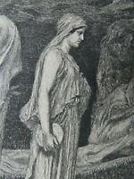 Max KLINGER (1857-1920) - Amor und Psyche, 1880