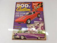 Vintage Original May 1963 Rod & Custom Magazine Custom Car Mods