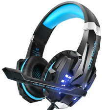 Ps4 PC Gaming Headset With Mic Microphone for PlayStation Headphones 3.5mm