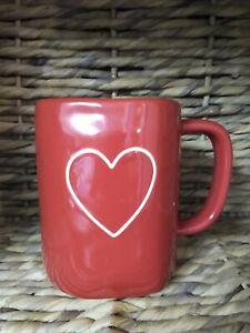 RAE DUNN NEW RED HEART MUG