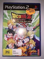 Dragon Ball Z Budokai Tenkaichi 3 Playstation 2 PS2 ( COMPLETE ) - FREE POST