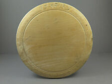 Antique Carved Wooden Bread Board Vintage Kitchenalia ~ Bread ~ Smaller Size