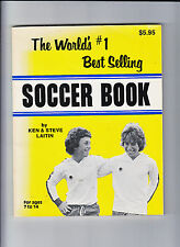 WORLD'S NO 1 BEST SELLING SOCCER BOOK-LAITIN-1979-1ST-QUALITY SC-VG++-A CLASSIC