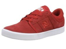 Mens DC Shoes RD Grand Lace Up Casual Red Low Top Suede Skate Trainer 8 UK 42 EU