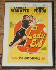 THE LADY EVE 1941 2001 CRITERION RELEASE GENUINE USA R1 DVD SENT FROM THE UK