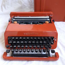 Olivetti Valentine Manual Typewriter Red in Good Condition