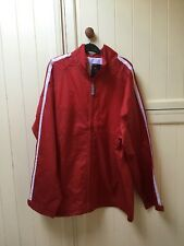 Unisex XXL Showerproof Red Jacket.