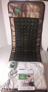 HL HEALTHYLINE - Far Infrared Jade Tourmaline Heating Mat - 72inL x 24inW