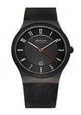 Bering Ceramic Armbanduhren aus Edelstahl mit Datumsanzeige für Herren