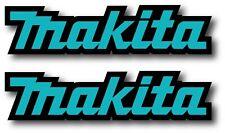 2X MAKITA DECAL STICKER US MADE TRUCK VEHICLE CAR WINDOW POWER TOOLS CONSTRUCT