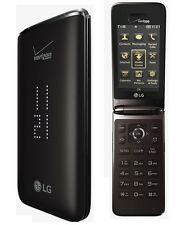 LG Exalt 2 II VN370 - Black r(Verizon) Flip Cellular Cell Phone(Page Plus)VN-370