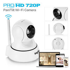 Wireless Pan Tilt 720P Security Network CCTV IP Camera WIFI Night Vision Webcam